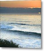 Sunset In La Jolla Metal Print