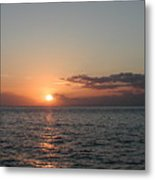 Sunset In Maui Metal Print