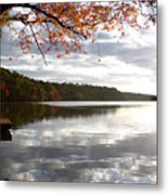 Sunset Lake Metal Print