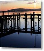 Sunset Magic Bodega Bay California Metal Print