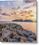 Sunset Malgrats Islands Metal Print