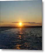 Sunset On The Horizon  2 Metal Print