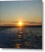 Sunset On The Horizon  2 Metal Print