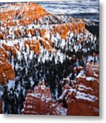Sunset Over A Hoodoo Nation IIi Metal Print