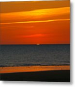 Sunset Over The Vendee Metal Print