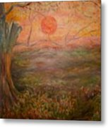 Sunset Rev. Metal Print