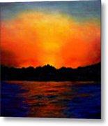 Sunset Sinai Metal Print