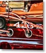 Super Stock Ss 426 IIi Hemi Motor Metal Print