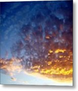 Supernatural Cloud Three Metal Print