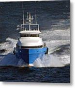 Supply Boat  Metal Print