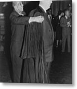 Supreme Court Chief Justice Earl Metal Print by Everett