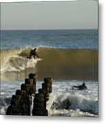 Surfing 81 Metal Print