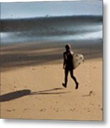 Surfing On Air  Metal Print