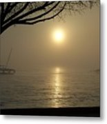Surreal Sunrise 3 6 09 016 Metal Print