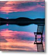Surreal Sunset Metal Print