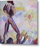 Surveying Creation Metal Print by Suzanne  Marie Leclair