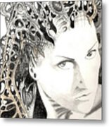 Susanna Wingarten Last Resort Of An Open Mind 2008 Metal Print