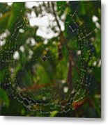 Suspended Moment Metal Print