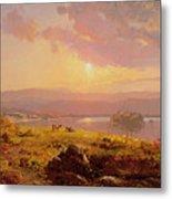 Susquehanna River Metal Print by Jasper Francis Cropsey