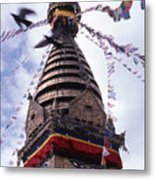Swayambhunath Metal Print
