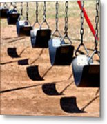 Swing It Metal Print