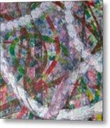 Swirl I Metal Print