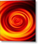 Swirled Sunrise Metal Print