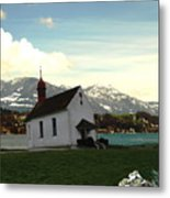 Swiss Hope Metal Print