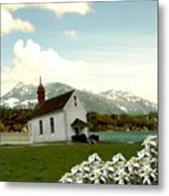 Swiss Spring Version 3 Metal Print