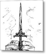 Sword Of The Spirit Metal Print