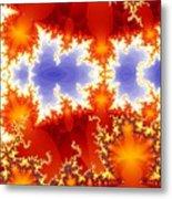 Synapse 4 Metal Print