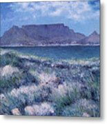 Table Mountain Cape Town South Africa 2007  Metal Print