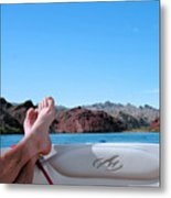 Takin It Easy Metal Print