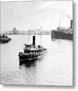 Tampa Florida - Harbor - C 1926 Metal Print