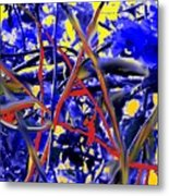 Tangled Web Metal Print