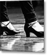 Tap Shoes Metal Print