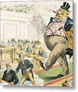 Tariff Lobbyist, 1897 Metal Print