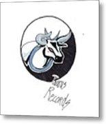 Taurus Logo Metal Print