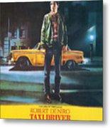 Taxi Driver - Robert De Niro Metal Print