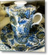 Tea Is Served Metal Print