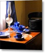Tea Time Composition Metal Print
