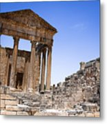 Temple Of The Capitol V Metal Print