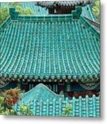 Temple Roofs Metal Print