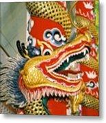 Thai Dragon Metal Print