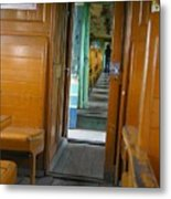 Thailand Train Metal Print