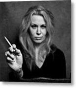 The Actress Metal Print