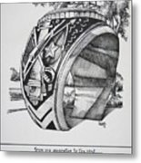 The Aggie Ring Metal Print