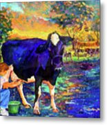 The Agronomist Metal Print