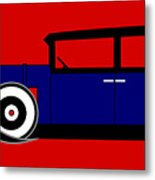 The Al Capone Cadillac V16 From 1930 Metal Print