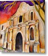 The Alamo Metal Print